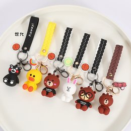 Cartoon Doll Accessories Bag Pendant Key Chain 6KRB on Sale