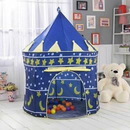 Опт Портативные складные дети играют в домик всплывают играть в палатка детский замок Cubby House игрушка для детей детский подарочный корабль из США