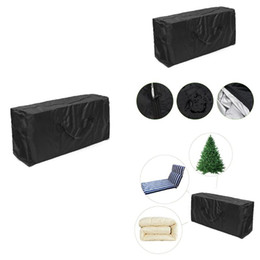 cushion storage bags Canada - Cushion Storage Bag Super Large Heavy Duty Polyester Christmas Tree Storage Bag Green Outdoor Furniture Cushion Lqxvk