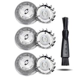 Опт HQ2 / 20 MIHQ2 / 20 Micro Action Замена бритье головки бритвы лезвия, совместимые с HQ20 HQ22 HS155 HS345 мужской электрический бритвой