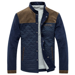 Wholesale mens quilted jackets for sale - Group buy New Spring Men s Jacket Baseball Uniform Slim Casual Coat Mens Brand Clothing Fashion Coats Male Quilted Jacket Outerwear