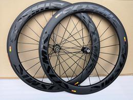 3K Twill weave road bike Carbon Wheels Clincher 60mm depth 25mm width BOB bicycle carbon wheelset on Sale