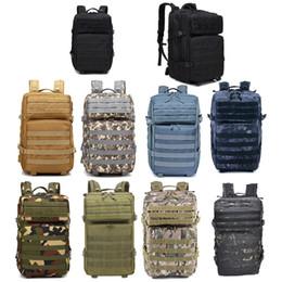 Oudoor Sport Impermeabile Tactical Pack / Bag / Zaino / Zaino / Assault Combat Camouflage Tactical Camo 45L Zaino NO11-0035 in Offerta