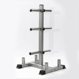 lift stands 2021 - Barbell Stand Weight Plate Storage Rack Cast Iron Barbell Bar Organizer Weight Lifting Dumbbell Holder Gym Fitness Equipment