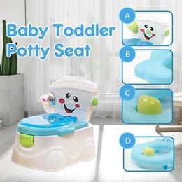 Taşınabilir Bebek Pot Klozet Saksı Çocuklar için Lazımlık Eğitim Koltuğu Çocuk Lazımlık Bebek Tuvalet Çok fonksiyonlu Eğitim Lazımlık Tuvalet 201119