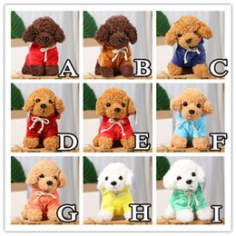 wholesale kid rag dolls Australia - Lovely Puppy Dog Plush Toys Teddy Dog Rag Doll Cute Trumpet Simulation Animal Doll Plush Stuffed Toys Peluche Baby Toys Kid Gift jllPTV