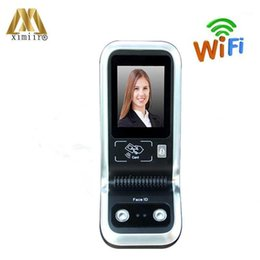 Wholesale Intelligence Face Recognition Door Access Control System TCP IP Time Attendance A1 With Reader And WIFI Wireless1