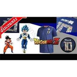 goku shirts Australia - Cartoon Number Japan Soccer Jerseys 10 VEGETA Son Goku Berus Broly BDZ Captain TSUBASA ATOM 9 KAGAWA Custom Home Football Shirt