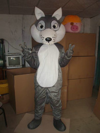 Wholesale sheep costume online – ideas Little wolf clothes mascot cartoon doll costume show props sheep anime people wear doll costume big bad wolf