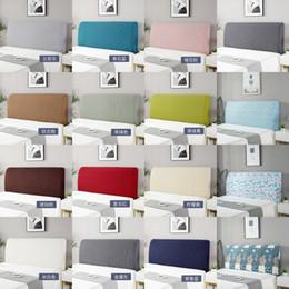 Tissu Épaississement Headboard Couverture Cactus Fleur Chambre à coucher imprimée Vivant Couvertures Élastic Couvre Home Protecteur Lavable 19 6QJ4 G2 en Solde