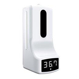 K9 Pro Dispense de Álcool Y Termometro Sem Touchless, Smart Life Sanitizer Hand Sanitizer Dispenser Scanner Sensor em Promoção