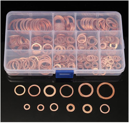 280pcs Copper Sealing Solid Gasket Washer Sump Plug Oil For Boat Crush Flat Seal Ring Tool Hardware Accessories jlllLl on Sale