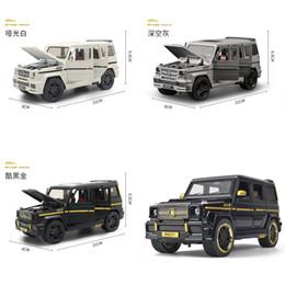 1:24 Legierung Auto Modell Kollektive Große G65 Spielzeugauto (M929Y-6) Neue vesion matte schwarz / weiß / graue malerei open türen y1130 im Angebot