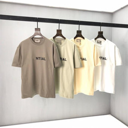 Wholesale mens designer clothes for sale - Group buy New Tees T Women TR127 With Letter Printed Men Mens Shirt Top Quality Casual Fashion Summer Streetwear Clothing Shirts Pdmfs