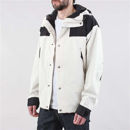 Wholesale jackets sport for sale - Group buy Spring Men s Casual Style Outdoor Sports Stitching Collar colored Blazer Hooded Windproof Waterproof Moutain Jackets colors Size M XL