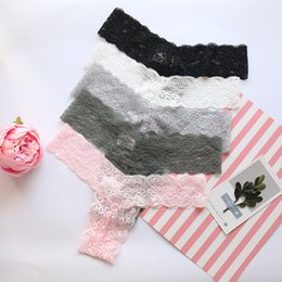 Wholesale young girl underwear brief resale online - 3x NEW Lace Transparent Young Girls Underwear lingeri Soft Girls Panties Calcinha Briefs Panties For Kids Girl Clothing Y0126