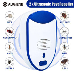 anti mouse pest Australia - 2pcs Pest Reject Ultrasonic Electromagnetic Insect repellent Anti Mouse Rejection Insect Pest control T200529