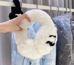 Earmuffs imitated rabbit fur plus velvet winter warm fashion earmuffs soft 2 colors Classic style on Sale
