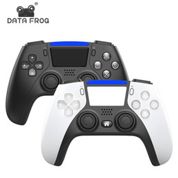 Wholesale 2021 NEW Wireless Bluetooth Controller for PS5 PS4 Shock Controllers Joystick Gamepad Game Controller With Package Fast shipping
