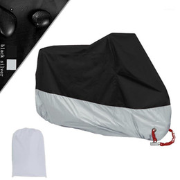 Motorcycle Cover Outdoor UV Protector Bicycle Dustproof Motorcycle Raincoat for Waterproof Dust-Proof Sun protection M-4X1 on Sale