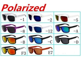 New Brand Orginal Quality Sunglasses Eyewear Goggles Glasses Matte Black W  Gray Polarized Lens for Men 12 Colors Options