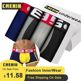 Wholesale mens lingerie for sale - Group buy 4Pcs BS Sexy Men Underwear Mens Boxer Trunks Gay Penis Pouch Sleepwear High Quality Men s Underwear Boxer Short Cuecas Lingerie X1116