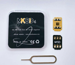 Ontgrendelende kaart 5G MKSD4 TURBO RSIM IOS15.X 3M zelfklevende lijm Ontgrendel SIM iPhone Auto Pop-up voor IP6,7,8, x, 11,12,13 Gevey