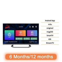 Venta al por mayor de 10000 Live TV Programa VOD M 3 U Android Smart TV Francia Canadá Holandés Turquía Países Bajos Australi Alemania España Show