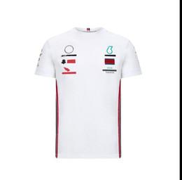 Vente en gros F1 T-shirt à manches courtes T-shirt Polyester Team Racing Racing Costume de travail Machine de travail Vêtements Beauté Sports Sports Vitesse de la voiture de remise 1 Kart