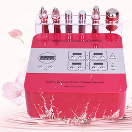 Microcurrent Face Lift Machine Electroporation RF Facial machine 6 in 1 Eye Wrinkle remove face skin tightening machine