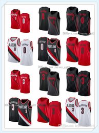 Wholesale jersey nba resale online - Mens Womens Portland Trail Blazers Seattle SuperSonics nba Damian Lillard C J McCollum custom Basketball Jerseys