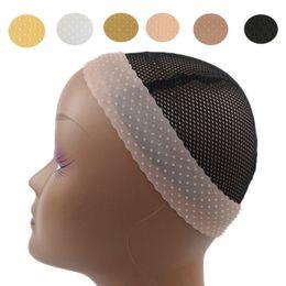 Vente en gros Perruque de silicone transparent bandeau de la bande élastique en forme de goutte de dentelle en forme de dentelle de la perruque d'élastique