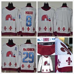 Colorado Avalanche 29 Nathan MacKinnon 2020-21 Reverse Retro Hockey Jersey 8 Cale Makar Blank Mikko Rantanen Gabriel Landeskog 19 sakic on Sale