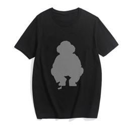 ingrosso magliette oversize-Hip Hop Polo Bear Fashion Printing Punk T Shirt Uomo Oversized Tops Streetwear Summer T shirt da uomo Gothic Lettera TEE Dydhg251