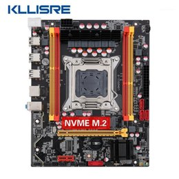 Wholesale Kllisre X79 chip motherboard SATA3 PCI-E NVME M.2 SSD support REG ECC memory1