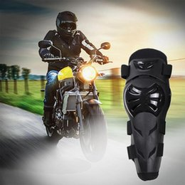 New 4 pcs Cross-country riding pulley protectors knee pads outdoor leg protectors anti-fall and anti- sports knee pads on Sale