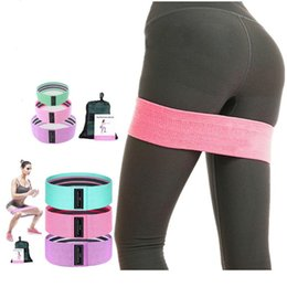 circle fitness 2020 - Beautiful buttocks belt hip circle yoga tension band fitness elastic band squat resistance sports hip resistance cheap c