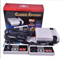 Venta al por mayor de Classic Game Player TV Game Console US UE puede almacenar 30 juegos con paquete minorista Envío gratis
