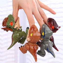 Wholesale 8286 Yuexing deformed dinosaur toy Q version of Tyrannosaurus Rex children's simulation dinosaur model factory direct hot sale