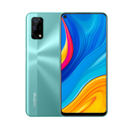"""Original Realme V5 5G Mobile Phone 6GB RAM 128GB ROM MTK 720 Octa Core Android 6.5"""" Full Screen 48MP Face ID Fingerprint Smart Cell Phone on Sale"""