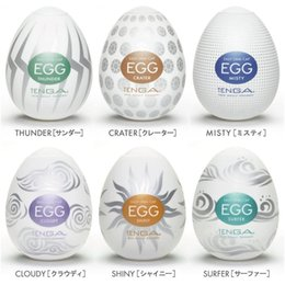 male masturbation egg NZ - 6Pcs Tenga (Boxed) Disposable Masturbation Vagina Hard Male Penis Masturbation Sexuelstoys Adult Package Cup Sex For For Sexy 18+ Egg M Kmhd