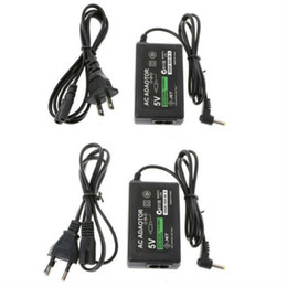 UE US Home Wall Carregador de Alimentação Cabo Cabo Cabo Adaptador AC para Sony PSP 1000 2000 3000 Slim com caixa de varejo em Promoção