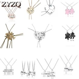 best gift for new girlfriend 2021 - ZYZQ Korean Student Necklace For Women Best Friend Three Petal Stitching Girlfriends Pendant Necklace New Year Gift Jewelry