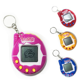 Discount battery operated toys Electronic Pet Toys Tamagotchi Digital Pets Retro Game Egg Shells Vintage Virtual Cyber Pets Virtual Cyber Pets Kids Novelty Toy Hot Sale