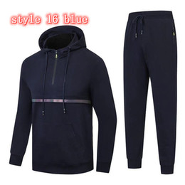Wholesale trends clothing for sale - Group buy Giorgio Italy brand men s designer Tracksuits sports suit Autumn winter sports men s clothes casual wear youth trend Korean sportswear