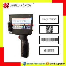 Vacuum Food Sealing Machine Handheld Inkjet Printer QR Code Barcode Logo Batch Number Printing Expiry Production Date Touch Screen Coding on Sale