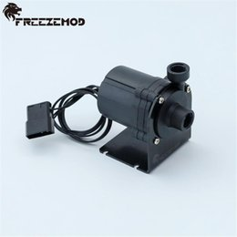 12v dc watering pump 2020 - FREEZE PU-SC800 Computer Water Cooling Pump 12V Brushless DC Water Cooler Pump Submersible 5 Meters Head 600L cheap 12v