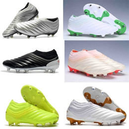 Wholesale turfs shoes for sale - Group buy 2020 mens soccer shoes Copa FG IN TF Turf soccer cleats world cup football boots FG Copa Mundial boots designer sneakers with box