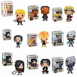 FUNKO POP Naruto Sasuke Kurama mode Kurama Vinyl Action Figure Collection Model Toys For Children Christmas Birthday gift X0121 on Sale