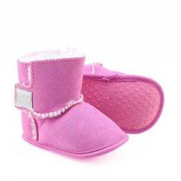 Newborn Boys and Girls OEM Factory Warm Snow Boots Newest Designer Boots Winter Baby Shoes Infant Toddler Prewalker Shoes size11cm-12cm-13cm